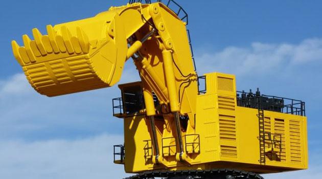 massive machines at work